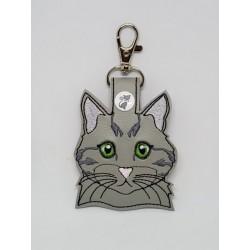 Cat Head - Grey