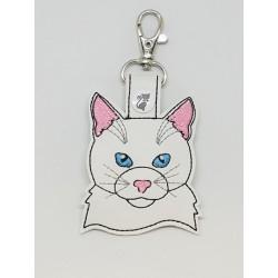 Cat Head - White